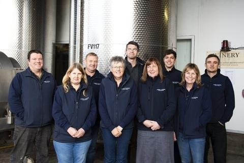 Winery staff 2018