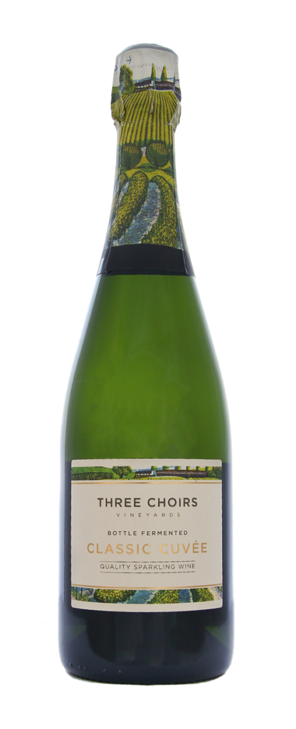English Sparkling Wine Classic Cuvee n/v by Three Choirs Vineyards