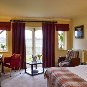 Vineyard View Bedroom Interior