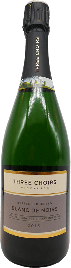 Blanc De Noirs English Sparkling Wine by Three Choirs Vineyards